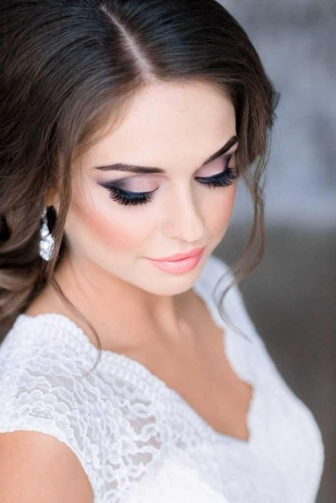 макияж на свадьбу для невесты фото больше нет