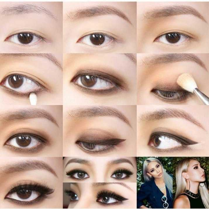 Корейский макияж поэтапно фото