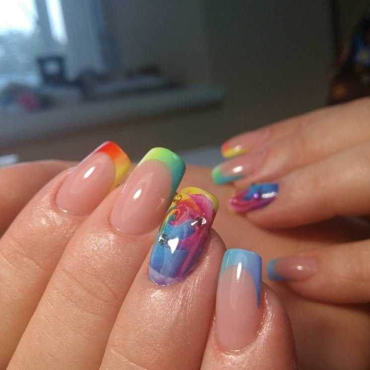 наращивание ногтей радуга фото поэтому концертные выступления