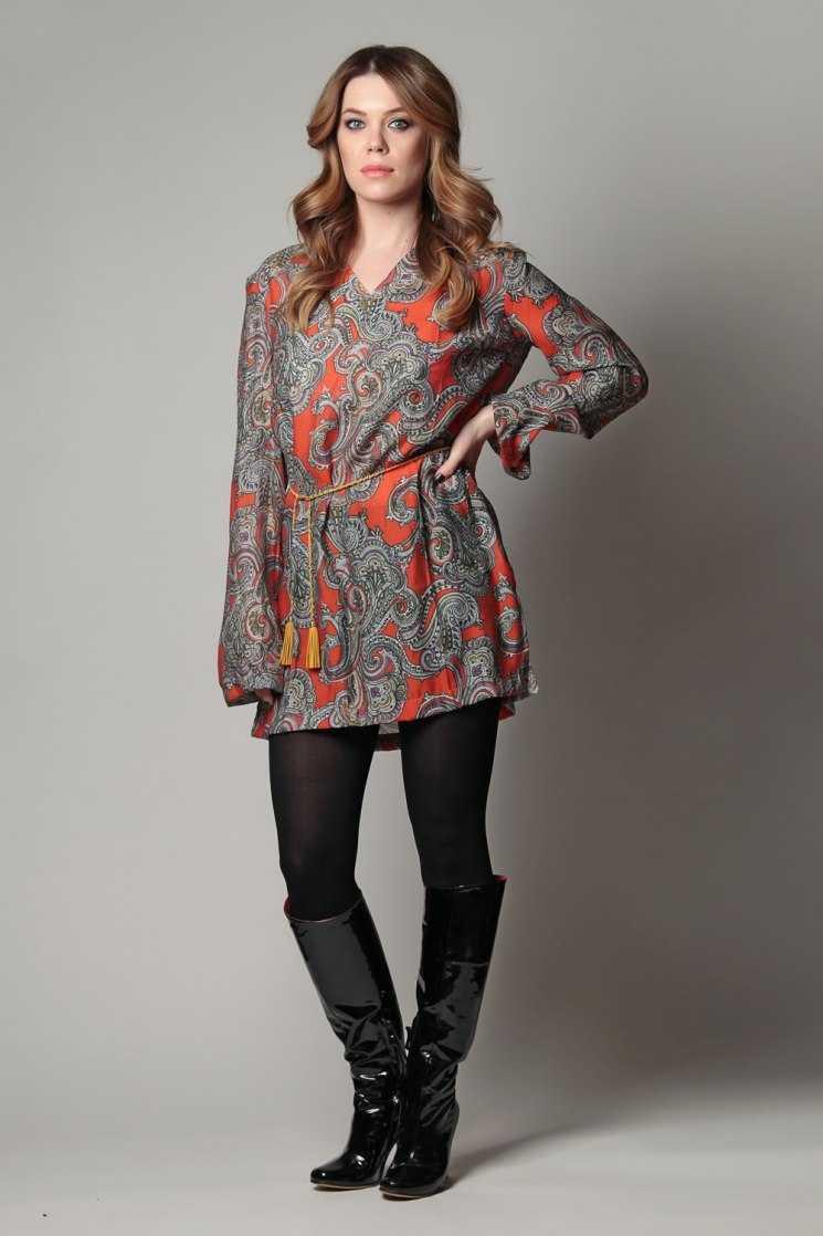 Красивые платья туники с чем носить фото